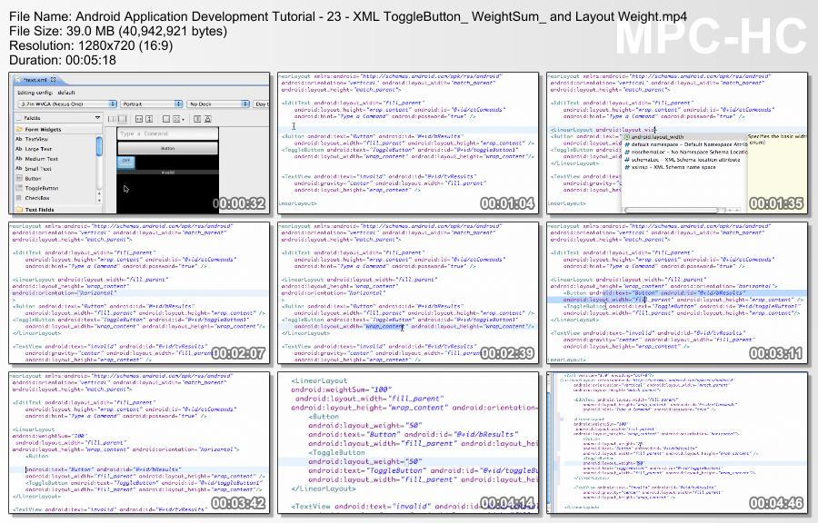 Android Application Development Tutorial - 23 - XML ToggleButton_ WeightSum_ and Layout Weight.mp4_thumbs_[2014.10.29_19.48.16]